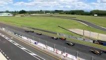 Toyota Racing Series New Zealand 2017. Race 1 Manfeild Autocourse. Brendon Leitch Huge Crash