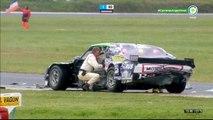 ACTC (TC) 2017. Final Autódromo Hermanos Emiliozzi. Santiago Mangoni Hard Crash