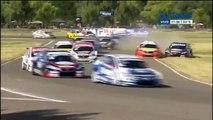 Súper TC 2000 2016. Final 1 Autódromo Parque Ciudad de General Roca. Crash