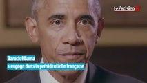 Barack Obama : « Je soutiens Emmanuel Macron »