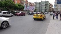 250 Bin Liralık Üstü Açık Lüks Aracını Taksi Yaptı