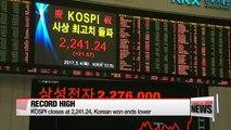KOSPI hits record-high despite tensions