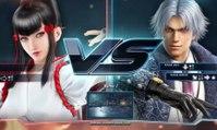 Tekken 7 - Gameplay de Kazumi y Lee