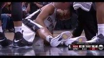 NBA : Les images chocs de la blessure de Tony Parker (Vidéo)