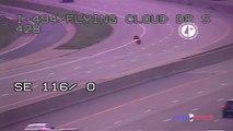 Un motard perd le contrôle de sa moto en essayant de fuir la police