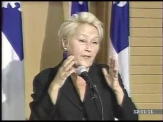 Pauline Marois Parle Tres Mal Anglais