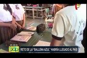 Chiclayo: autoridades educativas preocupadas ante posible llegada de 'Ballena Azul'
