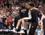 Spurs' Tony Parker leaves game because of torn quadriceps tendon