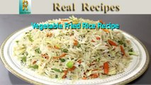 Vegetable Fried Rice Real Recipes Fried Rice Restaurant Style - Chinese Fry Rice Recipe