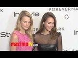 Forevermark And InStyle Arrivals Jessica Alba, Michelle Williams, Nina Dobrev