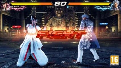 Tekken 7 - Kazumi VS Lee  de Tekken 7