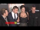HAYWIRE Premiere Gina Carano, Channing Tatum, Antonio Banderas ARRIVALS