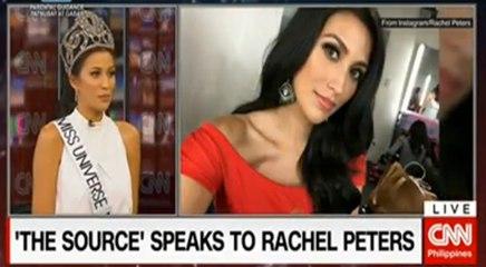 WATCH - Rachel Peters Binibining Pilipinas 2017 Universe -The Source Interview