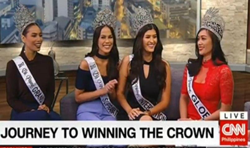 WATCH - Binibining Pilipinas 2017 Winners - CNN Philippines Interview