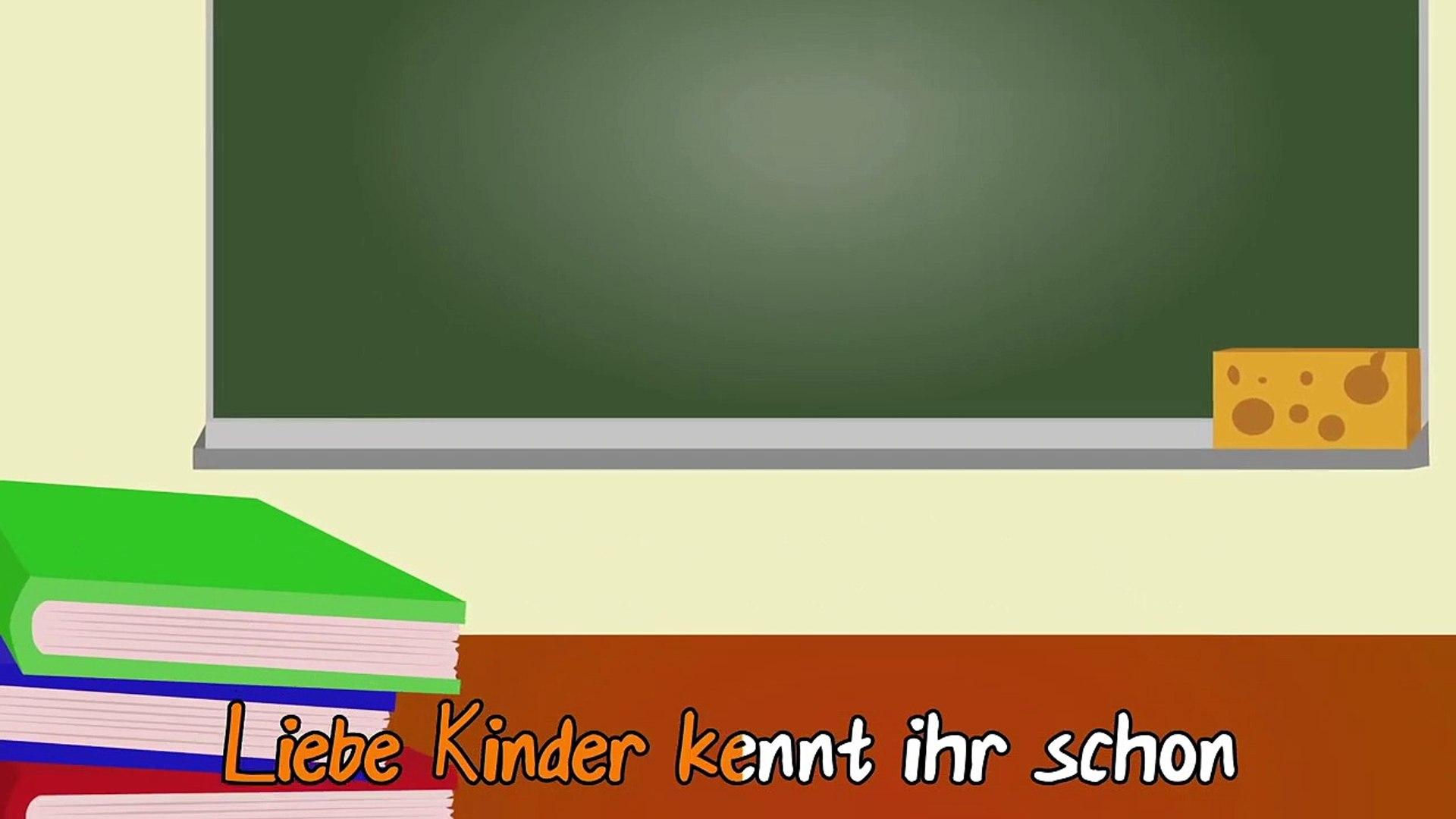 Das P-Lied - Das Deutsche ABC lernen - Kinderlieder zum Mitsi
