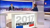 Débat: Critiquée sur les réseaux sociaux, Nathalie Saint-Cricq s'explique en direct au 20h de France 2