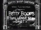 Betty Boop - Betty Boop's Halloween Party  (Original Version 1933 ).