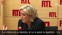 Rumeurs de compte offshore de Macron : Le Pen ne regrette rien