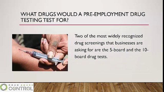 A Simple Guide for Pre-Employment Drug Testing - video
