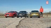 Vídeo Comparativa: VW Golf vs Audi A3 vs Opel Astra