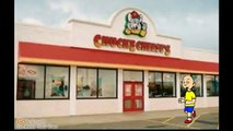 Caillou goes to Chuck E Cheese's and gets grounded