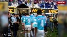 Le 5 mai 1992, l'effondrement de la tribune nord du stade de Furiani
