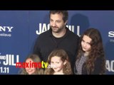 """Judd Apatow and Kids at """"Jack and Jill"""" Premiere Red Carpet ARRIVALS"""