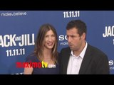 "Adam Sandler at ""Jack and Jill"" Premiere Red Carpet ARRIVALS"