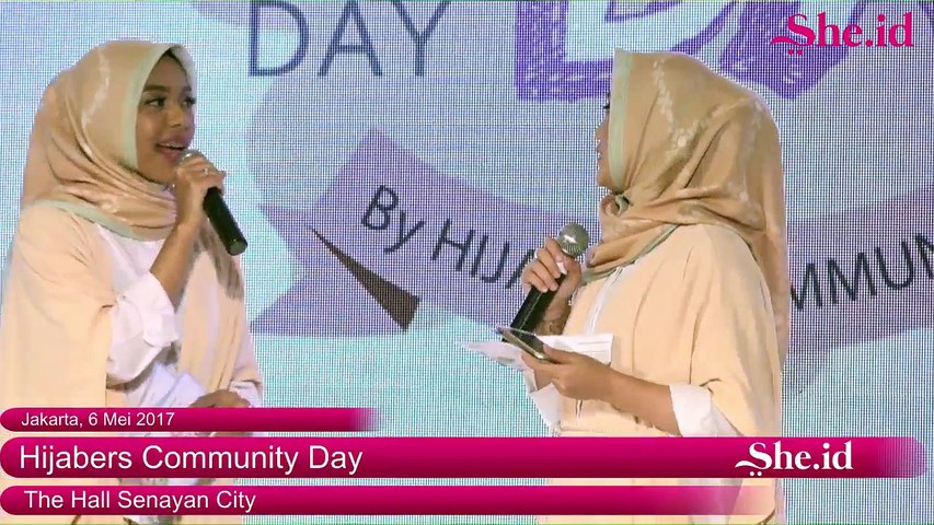 Hijabers Community Day : Fashion Show from Hijab Local Brand (25)