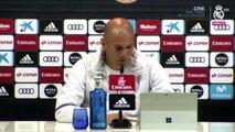 Zidane ne se fait pas d'illusions sur son avenir au Real Madrid