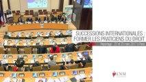 Magistrats et notaires formés sur les successions internationales