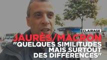 """Macron sur les terres de Jaurès : """"Quelques points communs mais surtout beaucoup de différences"""""""