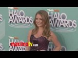 Charlotte Arnold at 2011 TeenNick HALO Awards Arrivals