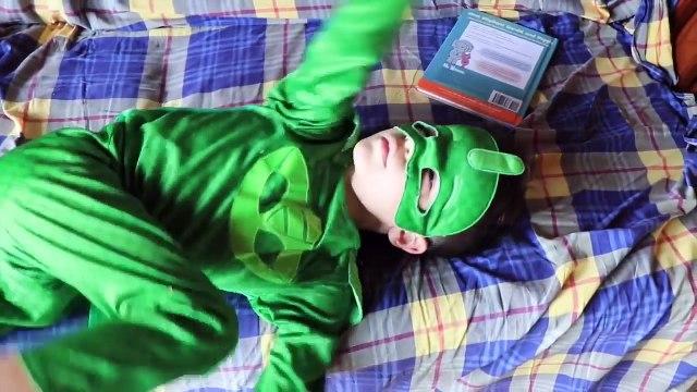 PJ Masks IRL Superheroes Catboy DISAPPEAR! Pranks Gekko + PJ MASKS IRL GET FAT Episodes