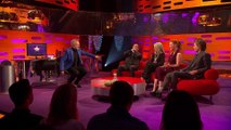 Michael Fassbender Teaches Jessica Chastain How to Breakdance & It's AMAZING! - Graham Norton Show