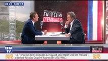 """Nicolas Dupont-Aignan : """"Mes filles ont souffert de la politique"""""""