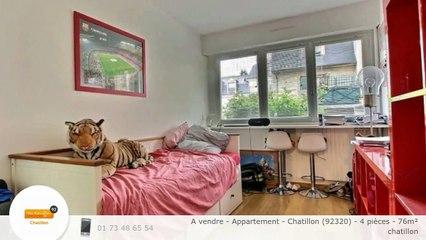 A vendre - Appartement - Chatillon (92320) - 4 pièces - 76m²