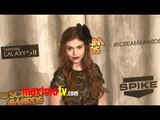 TEEN WOLF Holland Roden Spike TV's 2011 Scream Awards Arrivals