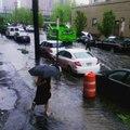 Heavy Rain Triggers Flash Flooding in New York Metro Area