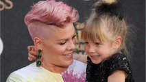 Pink's Daughter Willow Cuddles With Baby Brother Jameson