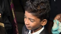 Lion star Sunny Pawar is too cute at The Asian Awards