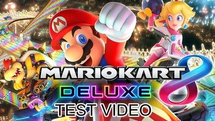 Mario Kart 8 Deluxe (Test Aufnahme als LP)