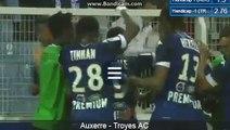 Auxerre 2-3 Troyes But Benjamin Nivet