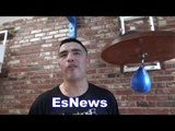 Epic Brandon Rios Clowns Victor Ortiz - IDK WHO FLOYD MAYWEATHER IS! He Made You Quit EsNews Boxing