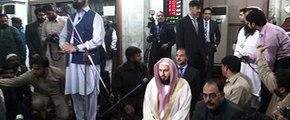 Speech Siraj-ul-Haq Amir jamaat-e-Islami Pakistan in mansoora masjid