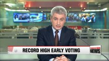 Early voting turnout in presidential election hits record high 26.06%