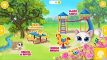 Fun Animal Pet Care - Play Style Bath Time with Kitty Meow Meow - My Cute Cat Educational Kids Game