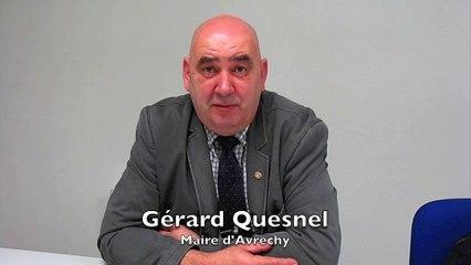 Avrechy : Gérard Quesnel très satisfait de l'élection d'Emmanuel Macron