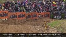 MXGP of Latvia Pauls passes Jorge Prado