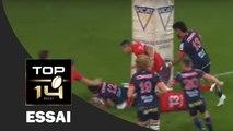 TOP 14 ‐ Essai de Nigel HUNT (FCG) – Grenoble-Lyon – J26 – Saison 2016/2017